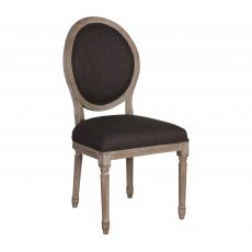 Marli Dining Chair - with charcoal grey upholstery