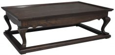 Block & Chisel solid colonial brown oak coffee table