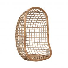Block & Chisel natural rattan hanging chair