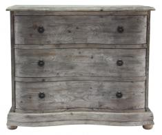 Block & Chisel wooden 3 drawer chest