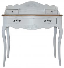 Block & Chisel white french country bureau desk