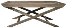 Block & Chisel tray top coffee table