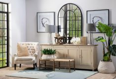 cream sideboard
