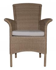 Block & Chisel rattan high back armchair