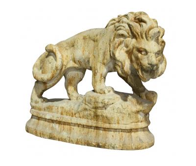 Block & Chisel lion statue