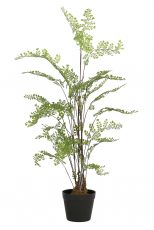Potted Fern - Green artificial houseplant fern