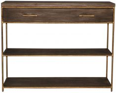Block & Chisel wooden console table
