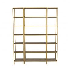 Block & Chisel shelf room divider