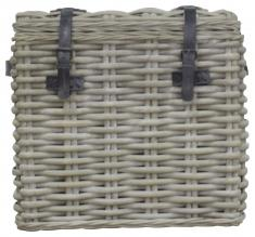 Block & Chisel wicker chest
