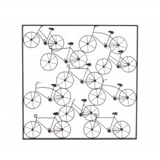 Bicycle art decor wall hanging
