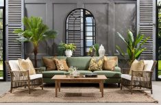 3.5 seater sofa in meadow