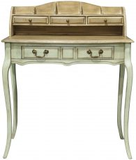 Block & Chisel green writing desk