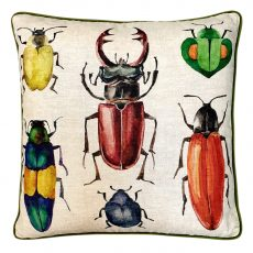 Block & Chisel bug insect cushion multi colours