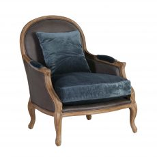 Occasional upholstered armchair