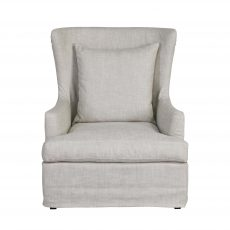 SLIPCOVER OCCASIONAL CHAIR IN LINEN