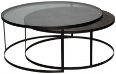 Block & Chisel round nesting coffee tables