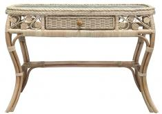 Block & Chisel rattan dressing table