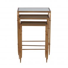 Nesting tables with mirrored top