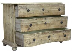 Rustic 3 drawer chest of drawers