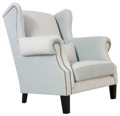 Block & Chisel mint cotton loveseat