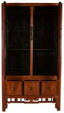 Block & Chisel wooden chinese cabinet