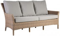 Block & Chisel rattan outdoor 2 seater sofa