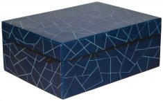 Block & Chisel navy blue box