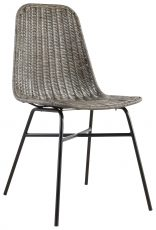 Block & Chisel rattan dining chair