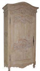 french style single door armoire