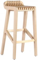 Block & Chisel birch plywood barstool with clear matt sealer