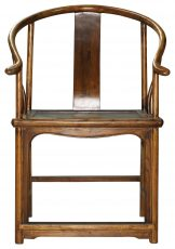 Block & Chisel wooden antique armchair