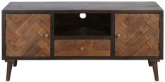 Block & Chisel mango wood tv cabinet