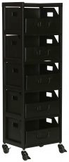 Block & Chisel black iron filing cabinet