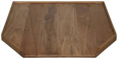 Block & Chisel solid weathered oak draining board