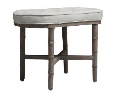 Block & Chisel linen upholstered ottoman or bedded