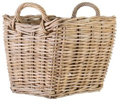 block & chisel rattan basket