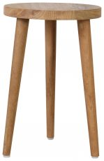 Block & Chisel reclaimed teak stool