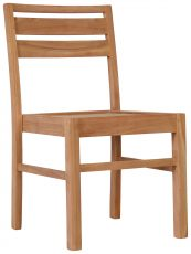 Block & Chisel teak wood dining chair