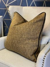 scatter cushion in Wallace gold
