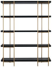 Block & Chisel 5 tier bookshelf