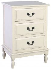 Block & Chisel antique pearl bedside table