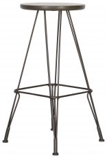 Block & Chisel iron stool