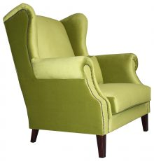 Block & Chisel green loveseat