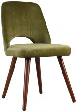 Block & Chisel green upholstered dining chair