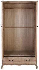 Block & Chisel oak & multilayer board wardrobe