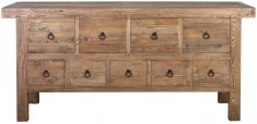 Block & Chisel old elm sideboard