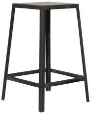 Block & Chisel mango wood barstool with metal frame