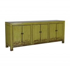 Lime lacquered chinese sideboard