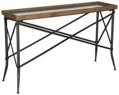 Block & Chisel rectangular console table