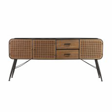 Block & Chisel Industrial Style Art Deco sideboard console server